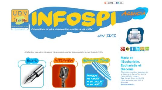 Cliquez pour consulter la dernière newsletter Infospi !