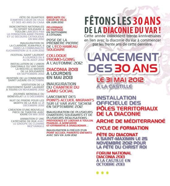 Diaconia 2013 dans le diocèse de Fréjus-Toulon !